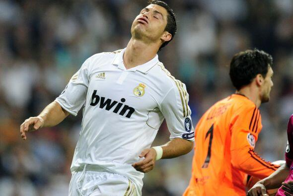 Cristiano Ronaldo buscó su gol pero no tuvo suerte. El portugués estuvo...