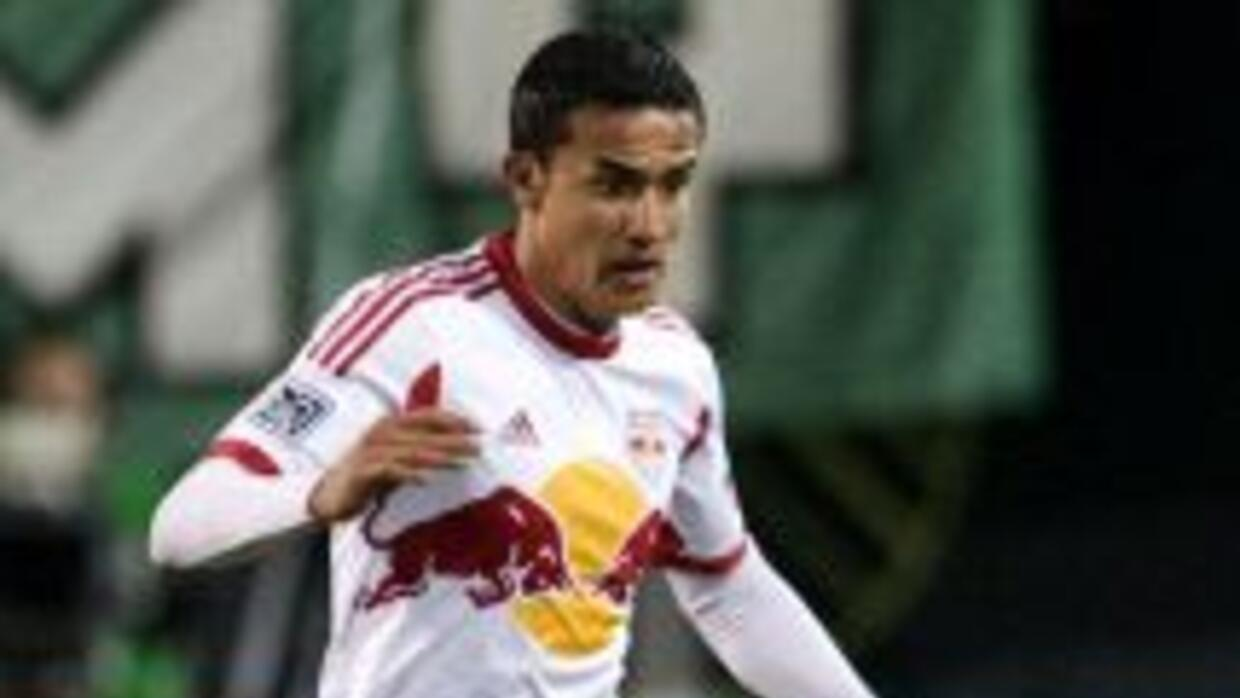 Cahill, jugador australiano del New York Red Bulls.