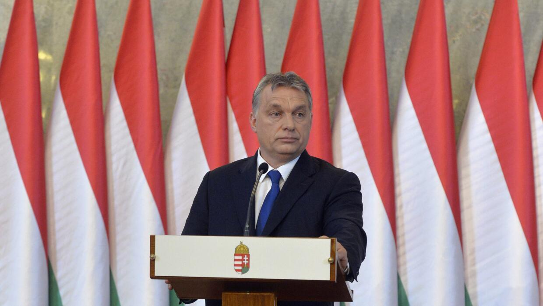 El primer ministro húngaro Viktor Orban. (Szilard Koszticsak/ MTI vía AP)