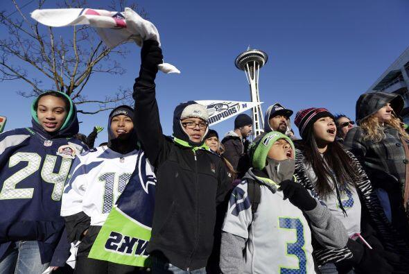 Seattle vivió un día inolvidable en el desfile del Campeón del Super Bow...