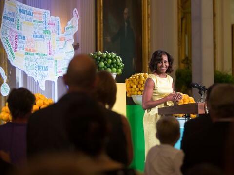 Michelle Obama, primera dama de Estados Unidos, decidió compartir...