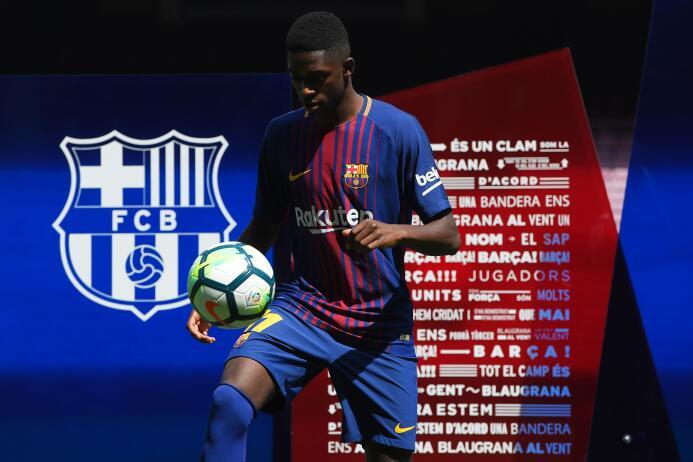 Ousmane Dembele (F.C. Barcelona)