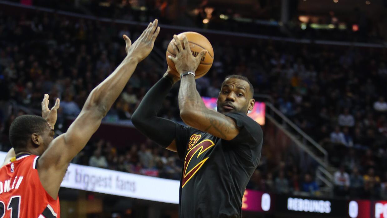 Cleveland remontó un déficit de 18 puntos.