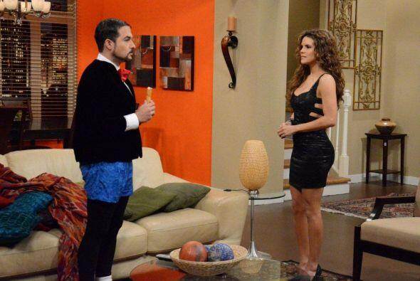 En el nuevo capitulo Agapito recibe la visita inesperada de su novia de...