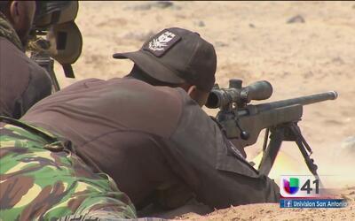 Francotiradores enfrentan prueba especial en Fuerzas Comando