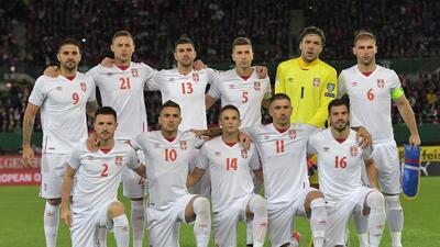 Serbia: la lista de 23 jugadores para el Mundial Rusia 2018