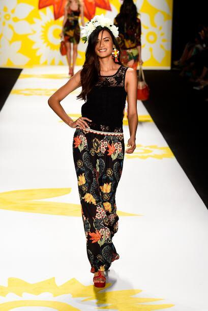 La semana de la Moda en Nueva York llegó y las flores serán tendencia pa...
