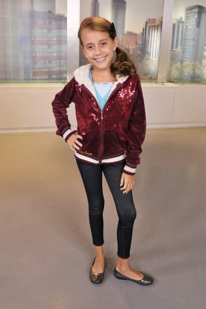La pequeña tiene una gran voz y aunque no ganó la competencia de Pequeño...