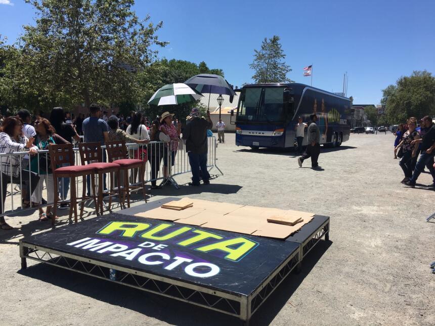 En fotos, la despedida de la Ruta de Impacto desde Sacramento Sacramento...