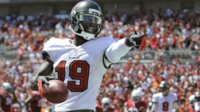 Mike Williams está agradecido con los Bills (AP-NFL).
