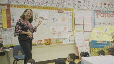 ¿Cuáles son los beneficios académicos del programa de educación bilingüe del HISD?