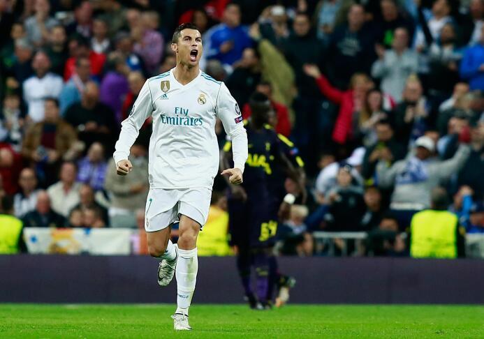 En la actual temporada, con solo 4 juegos, Cristiano Ronaldo ya suma 6 a...