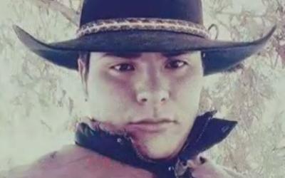 Johnny Serna Ramírez, uno de los inmigrantes que viajaba en el ca...