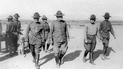 En fotos: Las últimas tropas de EEUU que cruzaron a México, 100 años antes de Donald Trump