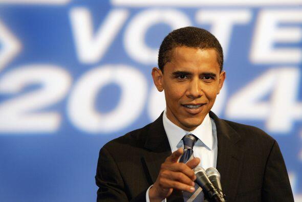 Barack Obama se catapultó a la escena política en la convención demócrat...