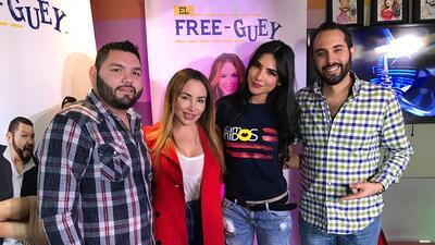 Alejandra Espinoza llegó a El Free-guey show con una invitación especial