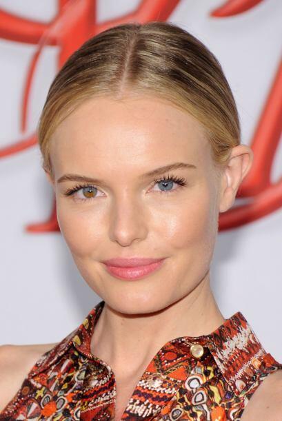 Ahora sí podemos decir que Kate Bosworth tiene un ojo avellana y el otro...
