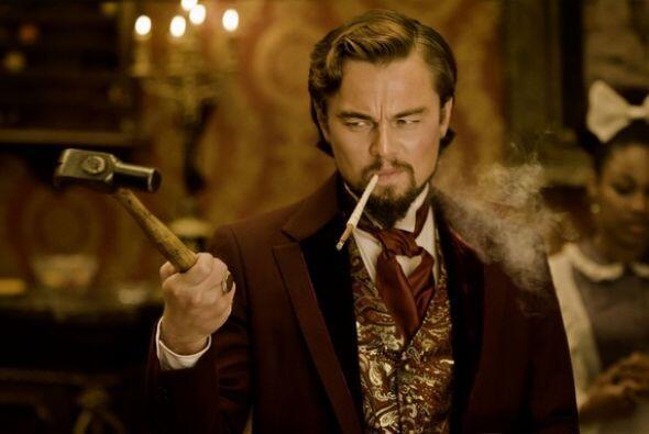 ¡Apunta pero no dispares! En 'Django Unchained',  el actor nos volvió a...
