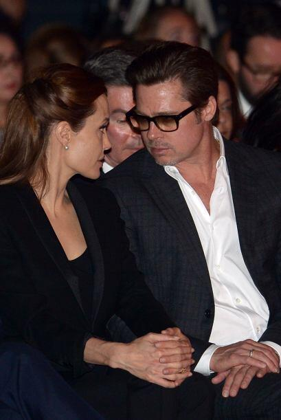 Brad Pitt fue quien diseñó el anillo de compromiso para su bella novia.
