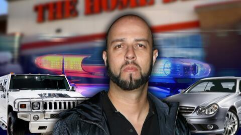 Esteban Loaiza fue arrestado en el estacionamiento de un Home Depot en S...