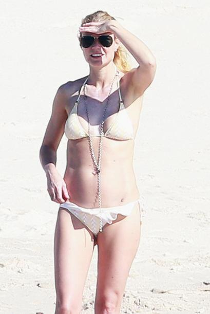Gwyneth disfrutó del clima cálido de Cabo San Lucas.
