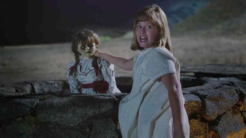 La siniestra muñeca Annabelle ha  causado pánico entre los espectadores,...