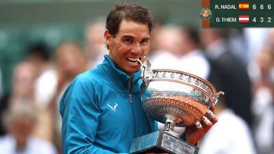 Arrollador: Rafael Nadal vence a Dominic Thiem y gana su undécimo título en Roland Garros