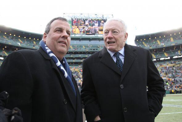 Jerry Jones - Dueño de Dallas Cowboys - (No. 393, $4.2 mil millones).