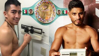 Santa Cruz y Mares cumplieron con prepesaje (Foto: WBC).