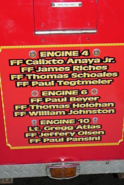 Carro bombero recuerda a sus caídos el 9/11 6cadef1a1adb46d383c36646d28d...