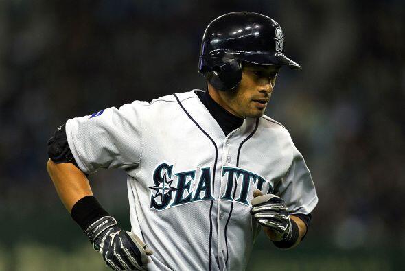 En un pésimo escenario, se esperaría que el japonés Ichiro Suzuki viera...