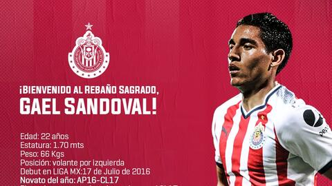 Gael Sandoval a Chivas