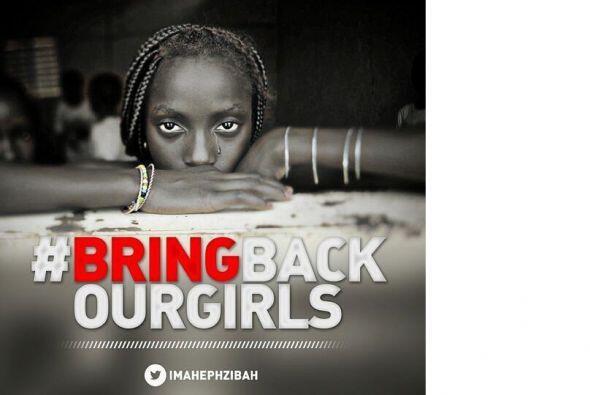 #BringBackOurGirls (Devuélvanos a nuestras niñas), un hash...
