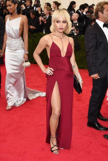¡Wow! Ella es Zoë Kravitz, hija del galán y cantante Lenny Kravitz. Lo q...