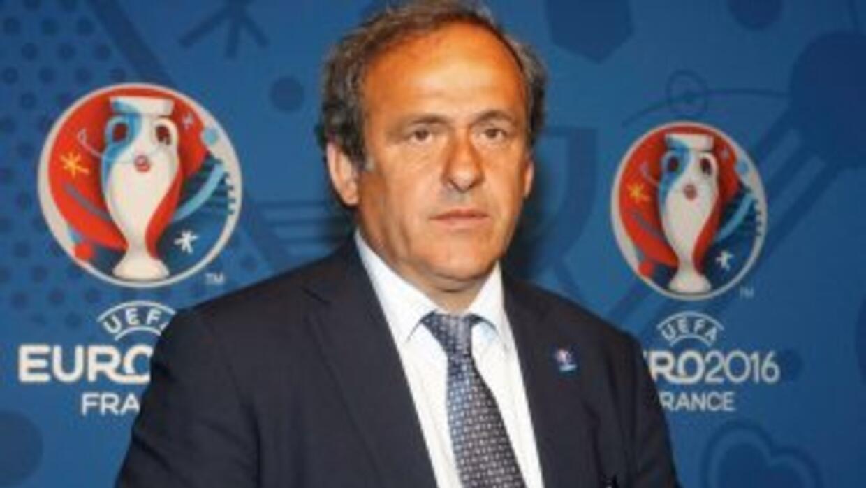 Platini, máximo responsable de la UEFA, acepta que la cifra que se pagar...