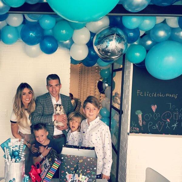 Galilea Montijo celebra el cumpleaños de su esposo Fernando Reina