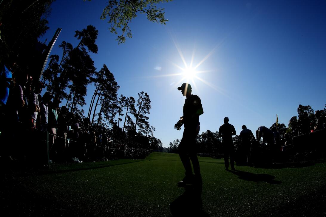 Postales de un grande del golf: el colorido y la naturaleza en el Master...