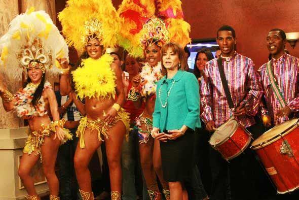 La alegría brotó en la corte de Veredicto Final con el ritmo de samba.