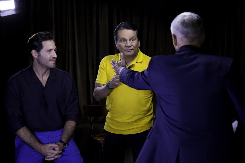 Risas, política y lecciones de boxeo marcan la entrevista de Jorge Ramos...