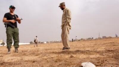 Un cementerio clandestino fue descubierto en Trípoli. Miles fueron asesi...