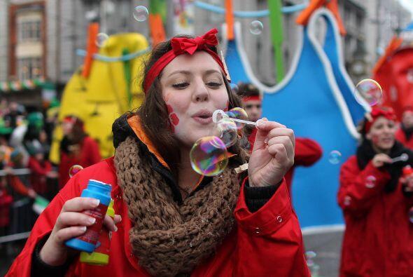 Este año, miles de personas participaron del festival del Día de San Pat...
