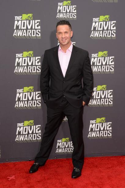 Mike 'The Situation' Sorrentino fue uno de los más galanes de la noche y...