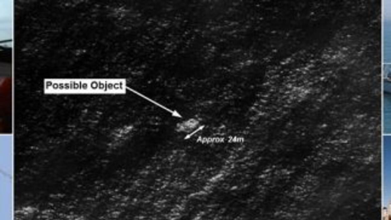 Los objetos que podrían pertenecer al desaparecido MH370