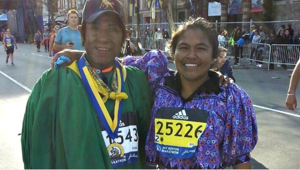 Arnulfo Quimera y Ayrma Chávez
