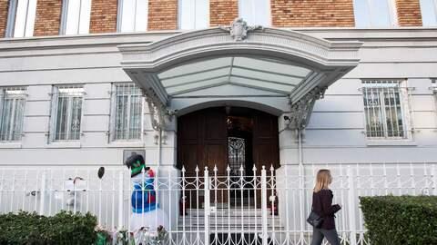 Imagen de archivo del consulado de Rusia en San Francisco