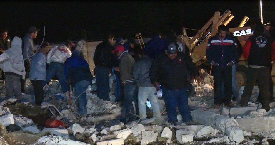 Explosión en Puebla deja 14 muertos