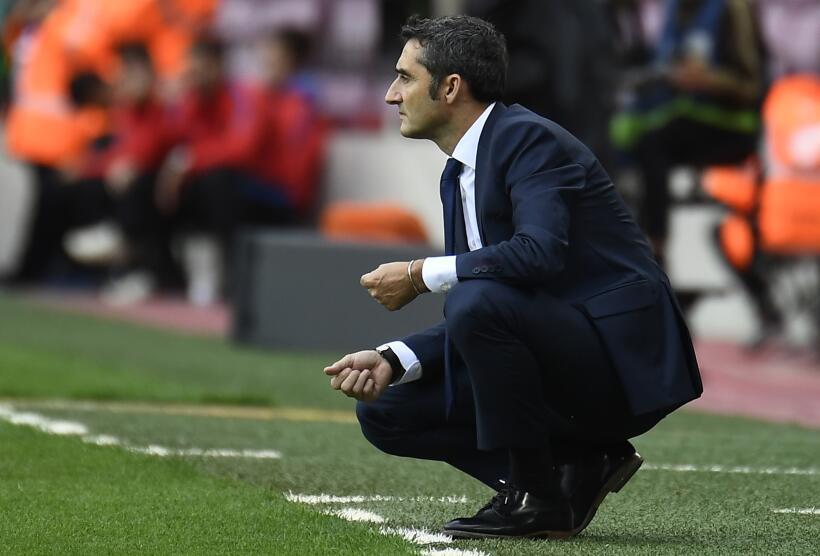 En un desolado Camp Nou sin público, el Barcelona goleó a Las Palmas get...