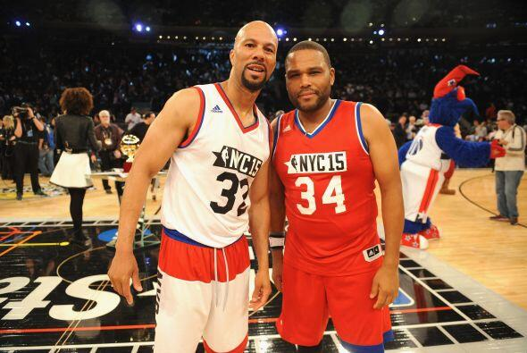 Common y Anthony Anderson.