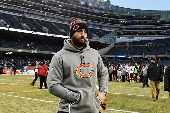 Jay Cutler de los Chicago Bears