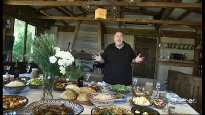 ¡Lehaim! Raúl de Molina disfrutó del banquete de su vida en Los Altos de...